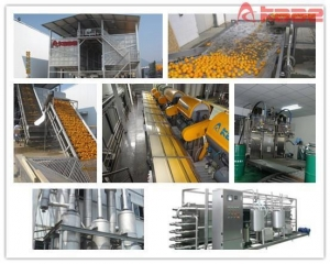 China Turnkey Project Citrus/orange/lemon/mandarin Concentrated Juice Processing Line on sale