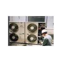 Air conditioning equipment cleaning
