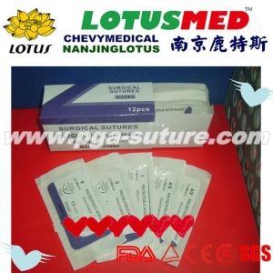 China LOTUSMED PGAR Surgical Sutures Medical Suture on sale