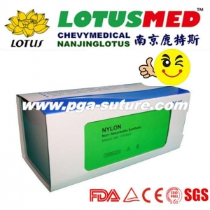 China Surgical Ligature Suture with Needle 2/0 3/0 on sale
