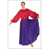 China Liturgical and Lyrical Circle Skirt on sale