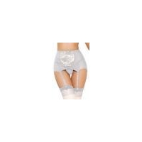 853ed0b514d China White High-waisted Lace Hollow-out Garter Belt Item NO LC1183-