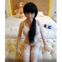 Full body sex dolls 135cm real love doll with metal skeleton