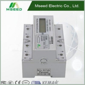 China Din-rail Energy Meter Product name: register 3p4w Din Rail on sale