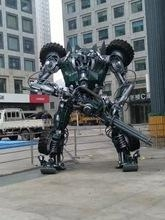 China Gifts & Crafts Occasion HOLDAIY Used in Trade Fair and Exhibition Design Iron Robot Man on sale