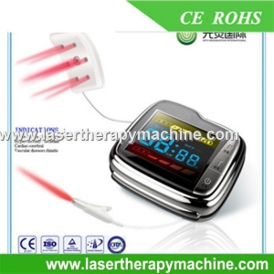 China Therapy Apparatus Nasal Rhinitis Laser Treatment Medical Wrist Laser on sale