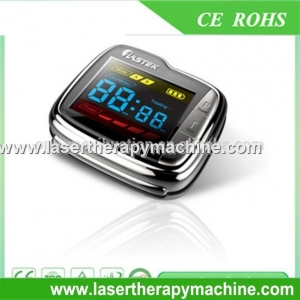 China Hypertension natural blood pressure reducing soft laser wrist therapeutic watch on sale