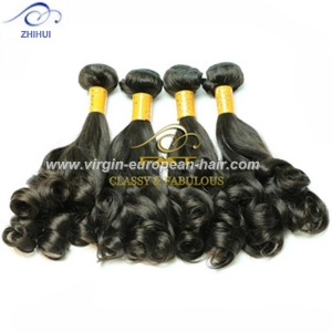 China ZHIHUI hair unprocessed 8a fumi wave extensions fast delivery 100 human hair weave brands on sale