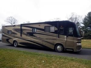 China Coachmen/Sportsman Pathfinder 386QS RV with 4 Slide Outs used for sale on sale