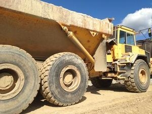 China Volvo A30C articulated truck on sale