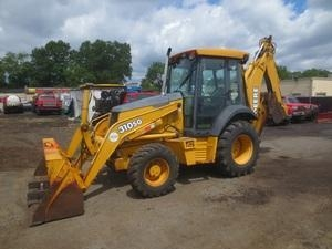 China 2003 John Deere 310SG 4x4 Backhoe Loader used for sale on sale