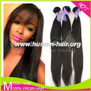 China 100% human virgin brazilian hair extensions online sale on sale