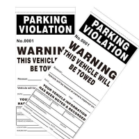 Thermal Parking Ticket