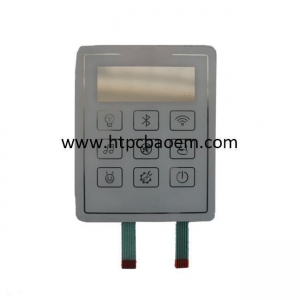 China All Kinds Of Membrane Switch/keyboard OEM China Manufacturer, Metal Dome,P+R Numeric 10 Key Keypad/n on sale