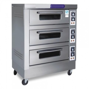 China Glazed Stainless-Steel Electric Oven Which Is Widely Used In The Commercial Baking on sale