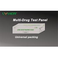 Multi-drug One Step 5 6 10 12 Drug Screen Test Panel Rapid Test Diagnostic Kit Accurate CE Mark
