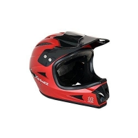 X-games Youth Full Face Helmet, Satin Red