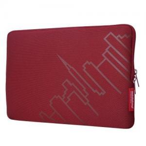 China Manhattan Portage Macbook Air Skyline Laptop Sleeve (red, 13-inch) on sale