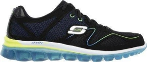 China Skechers Sport Men's Skech Air 2.0 Brain Freeze Oxford, Black/blue, 13 M Us on sale