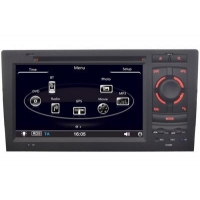 Audi A8 S8 RS8 RS6 GPS Navigation Car Stereo (1998-2004)