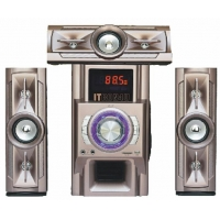Multimedia Speakers 3.1 Multimedia Plastic Covered Speaker With FM USB SD REMOTE And Bluetooth