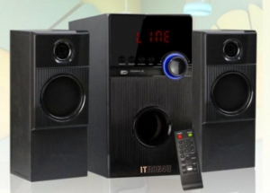 China Multimedia Speakers ITRON ITSZD-6206 2.1 Multimedia Speaker With FM USB SD REMOTE And Bluetooth on sale
