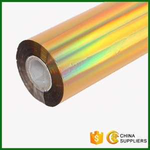 China Gold Holographic Hot Stamping Foils for Paper on sale