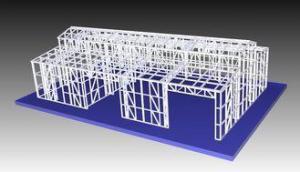 China Structural Steel Light Frame Metal Garden Shed / Metal Car Sheds on sale