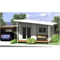 Energy Saving Prefabricated Australian Granny Flats / Granny Flats For Holiday Living