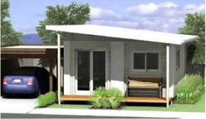 China Energy Saving Prefabricated Australian Granny Flats / Granny Flats For Holiday Living on sale