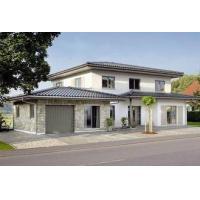 Energy Saving Prefabricated Steel Structure Villa , Modern Prefab Villa For Family