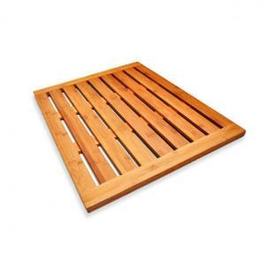 China Bamboo Shower Mat and Anti-slip Bamboo Shower Floor on sale