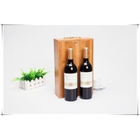 Bamboo Crafts for Red Wine Bottle Storage of Bamboo Box