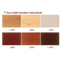 Natural Shades of Bamboo Window Blinds