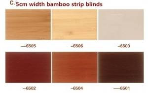 China Natural Shades of Bamboo Window Blinds on sale