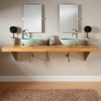 China Best Price and Fashion Bamboo Countertops Bathroom on sale
