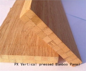 China Vertical Carbonized Bamboo Board for Worktops and Tabletops on sale