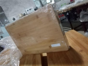 China Nature & Eco-friendly Bamboo Cutting Board/Cheese Board, 10-inch Brand or Logo, FDA/LFGB Mark on sale
