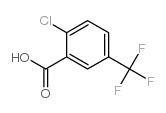 China Intermediate 2-Chloro-5-(trifluoromethyl)benzoic acid CAS NO.657-06-7 on sale