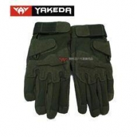 China Durable Tactical Protective Gear Black Tactical Shooting Gloves on sale
