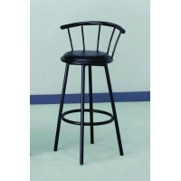 BLACK SWIVEL BAR STOOL (Pack 2 per box $29.95 ea. stool) Bedroom Furniture