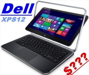 China DELL XPS 12 Convertible Ultrabook i7-3687U 8GB Ram 256GB SSD 12.5FHD 1080P Touch on sale