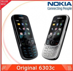 China Nokia 6303 Classic Original Phone Unlocked FM GSM 3.15MP Camera Freeshipping on sale