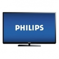 "Philips - 50"" Class (49-5/8"" Diag.) - LED - 1080p - 240Hz - Smar"