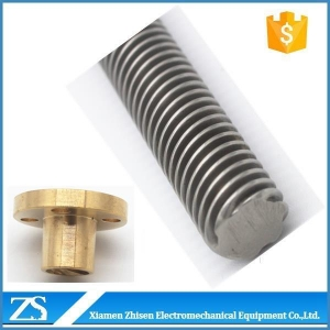 China Lead Screw Hardened Long A307 Acme Threaded Rod Lot Dimensions For CNC on sale