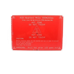 China MK2a PCB heated bed 300x200x2 (12V) on sale
