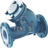 China Y-type Fluorine Lined Filter on sale