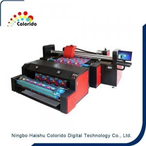 China NEWEST Digital Textile Belt Printer Direct print for wool velvet fabric on sale