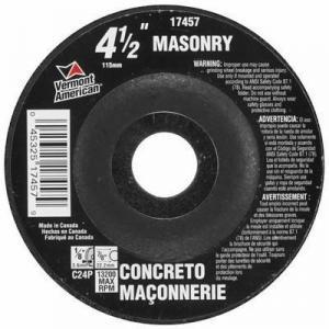 China Abrasives 10 Piece 4-1/2 In. Type 27 Depressed Center Masonry Grinding Wheel on sale