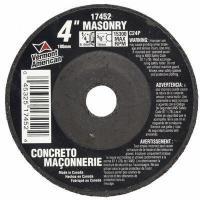 Abrasives 10 Piece 4 In. Type 27 Depressed Center Masonry Grinding Wheel
